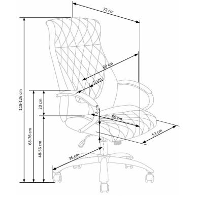 Biuro kėdė HILTON 3