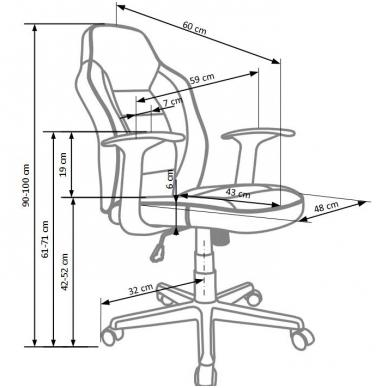 Biuro kėdė NEMO 2