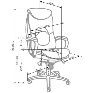 Biuro kėdė QUAD 3