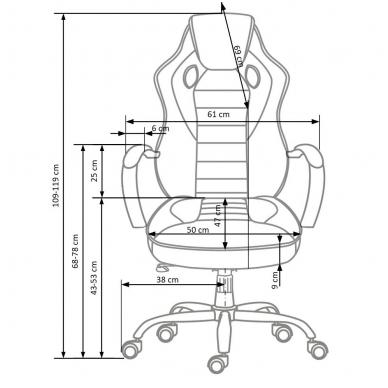 Biuro kėdė SCROLL 4