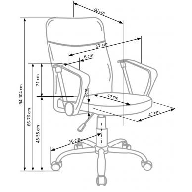 Biuro kėdė TOPIC 3