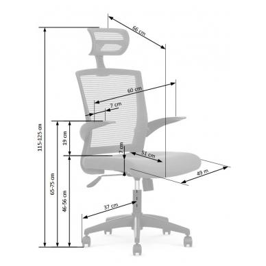 Biuro kėdė VALOR 3