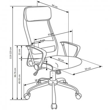 Biuro kėdė ZOOM 2