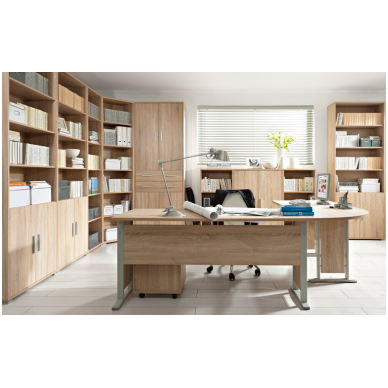 BRW OFFICE biuro stalas BIU/72/150 2