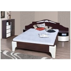 DOME lova DL1-4 (su naktinėmis spintelėmis)