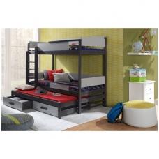 Dviaukštė lova Quatro III