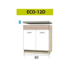 ECONO pastatoma spintelė kriauklei ECO-12D