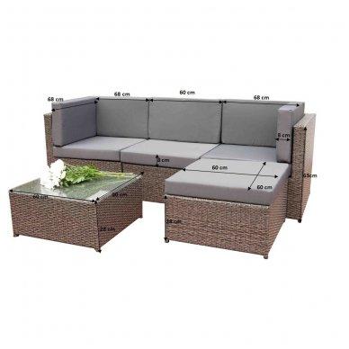 Lauko baldų komplektas TINTO 3