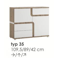 MILANO komoda TYP35