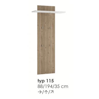 MILANO panelė TYP115