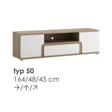 MILANO RTV spintelė TYP50