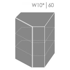 Pakabinama kampinė spintelė EMPORIUM W10