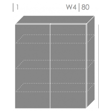 Pakabinama spintelė EMPORIUM W4 80