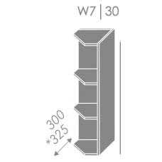 Pakabinama spintelė EMPORIUM W7 30