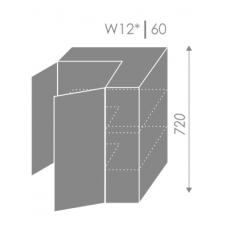 Pakabinama spintelė PLATINUM  W12 60