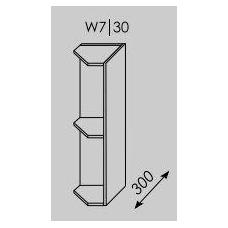 Pakabinama spintelė  PLATINUM  W7 30