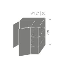 Pakabinama spintelė QUANTUM W12 60