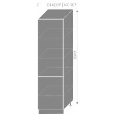 Pastatoma spintelė EMPORIUM D14/DP/207