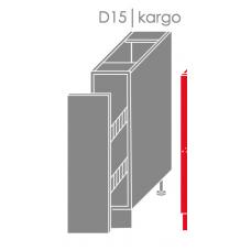 Pastatoma spintelė EMPORIUM D15 kargo