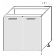 Pastatoma spintelė  PLATINUM   D11 80