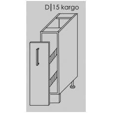 Pastatoma spintelė PLATINUM D15+kargo