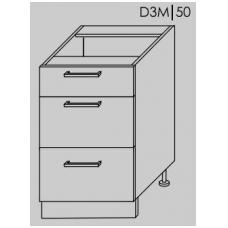 Pastatoma spintelė  PLATINUM   D3M 50