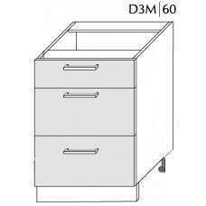 Pastatoma spintelė  PLATINUM D3M 60