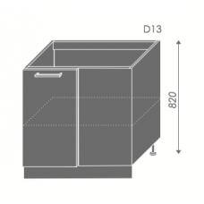 Pastatoma spintelė SILVER D13