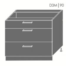 Pastatoma spintelė  SILVER D3M 90