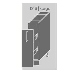 Pastatoma spintelė QUANTUM  D/15+ cargo