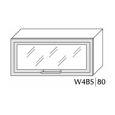 Pakabinama spintelė SILVER W4Bs 80 MDF