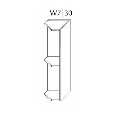 Pakabinama spintelė SILVER W7 30