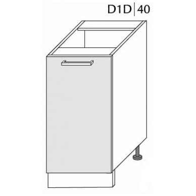 Pastatoma spintelė SILVER D1D 40
