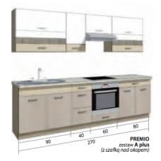 PREMIO virtuvinis komplektas A plus