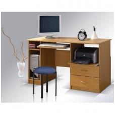Rašomasis stalas MAX su stalčiais