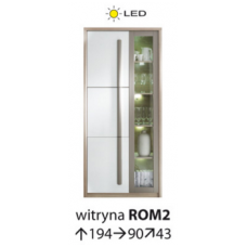 ROMA vitrina ROM/2