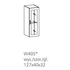 ROYAL pakabinama vitrina W40S