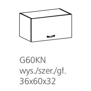 ROYAL pakabinama spintelė G60KN