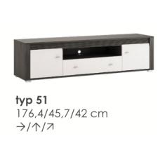 SEVILLA RTV spintelė TYP51
