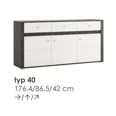 SEVILLA komoda TYP40
