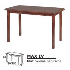 Stalas medinis MAX IV