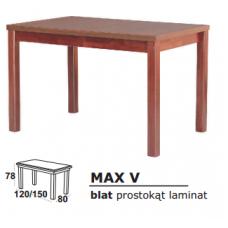 Stalas medinis MAX V