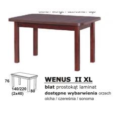Stalas medinis WENUS II XL