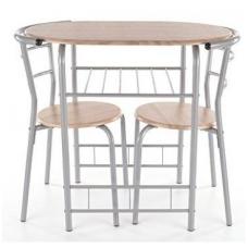 Stalo ir 2 kėdžių komplektas Gabo