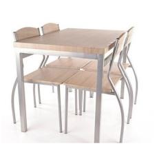 Stalo ir 4 kėdžių komplektas Astro