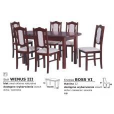 Stalo ir kėdžių komplektas 12