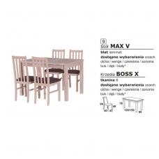 Stalo ir kėdžių komplektas 9