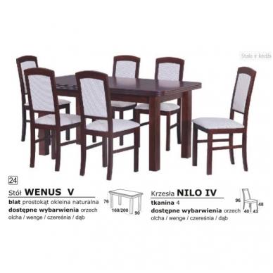 Stalo ir kėdžių komplektas 24