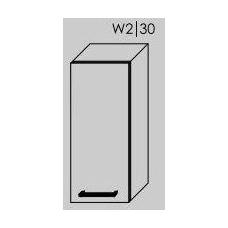 TITANIUM pakabinama spintelė W2/30