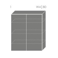 TITANIUM pakabinama spintelė W4 80